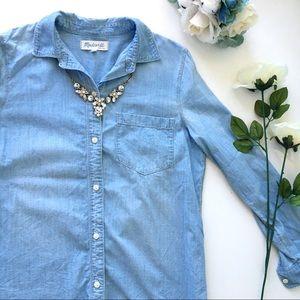 Madewell Pocket Chambray Shirt